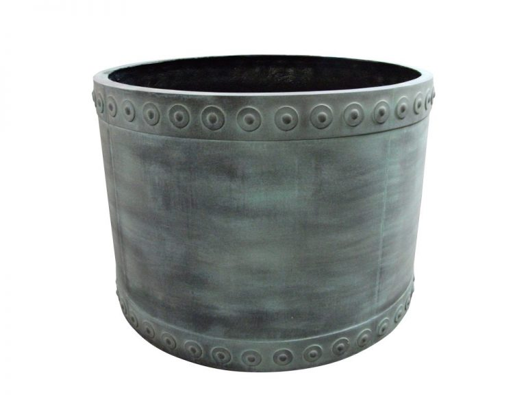 Cromwell Round   Fibreglass Planter