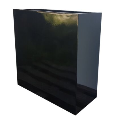 Fibreglass-Barrier-Planter-Glossy-Black-Alt