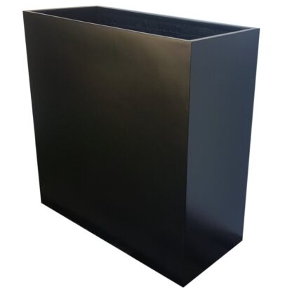 Fibreglass-Barrier-Planter-Matte-Black