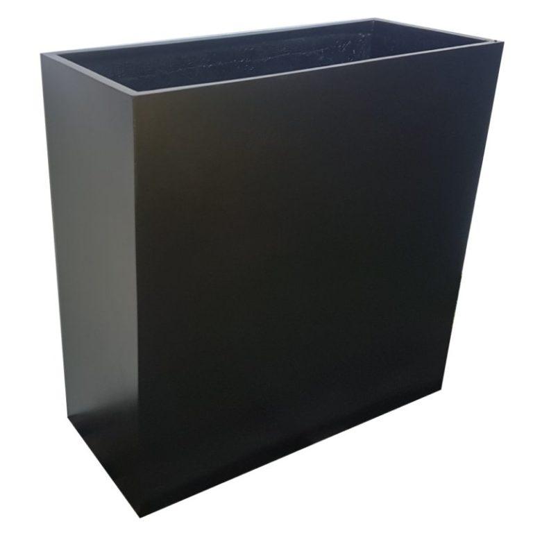 Fibreglass-Barrier-Planter-Matte-Black-Alt1