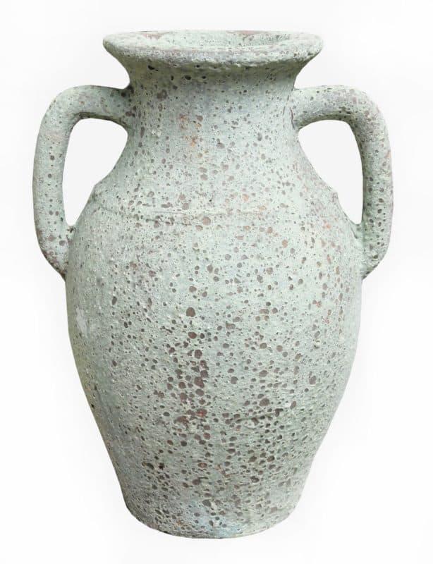 Ceramic Atlantis Grecian Amphora Urn Planter - Critias