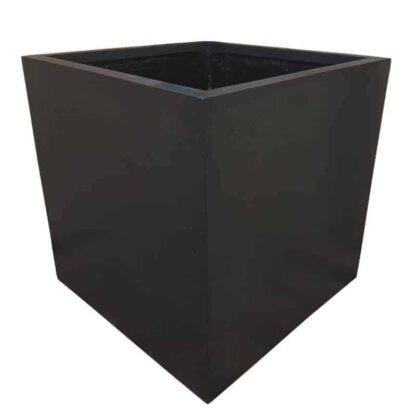 Black Cube | Polystone Planter