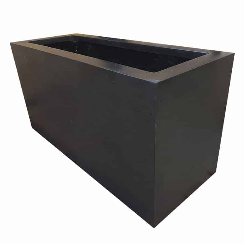 Black Trough | Polystone Planter