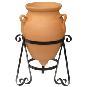 Ceramic Urn With Stand - Baldaia | Terracotta Planter