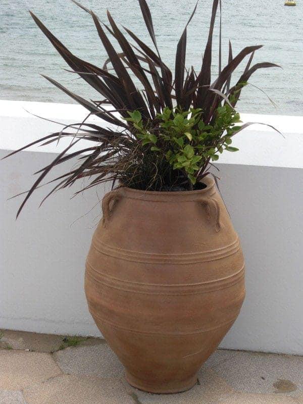 Cretan Fibreglass Planter Alt