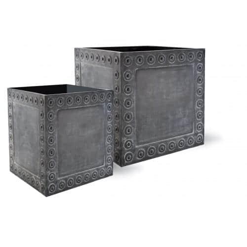 Flower Pots & Stands Cromwell Cube | Fibreglass Planter