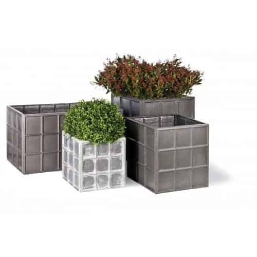 Downing Street Cube   Fibreglass Planter