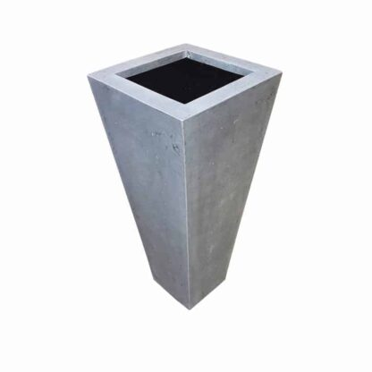 Grey Flared Square | Polystone Planter