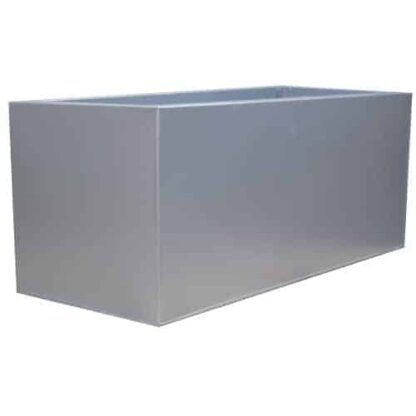Grey Powder Coat Galvanised Trough | Zinc Planter