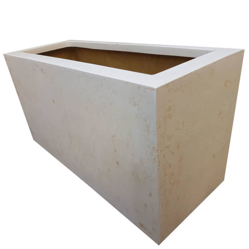 OffWhite Trough | Polystone Planter