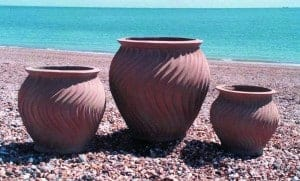 Shimmer Pot Fibreglass Planter Alt