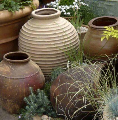 Sparta Urn Fibreglass Planter Alt