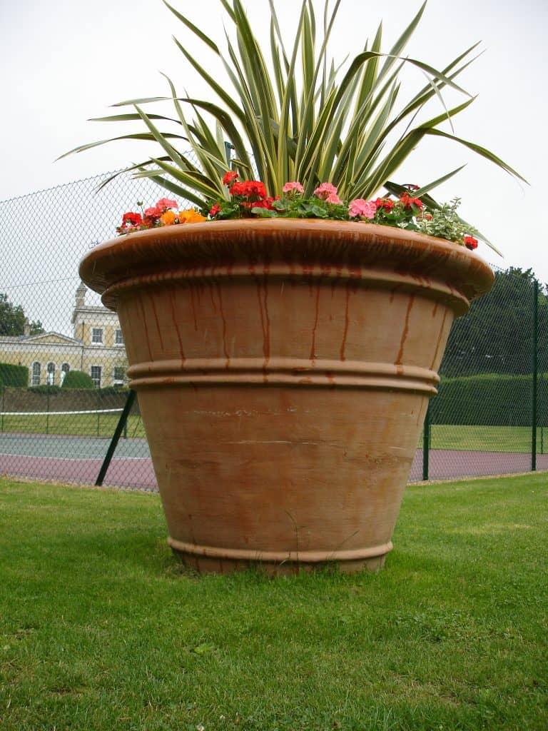 Titan Pot Large Fibreglass Planter ALT 3