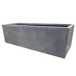 Grey Trough | Polystone Planter