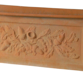 Oakleaf Trough Fibreglass Planter