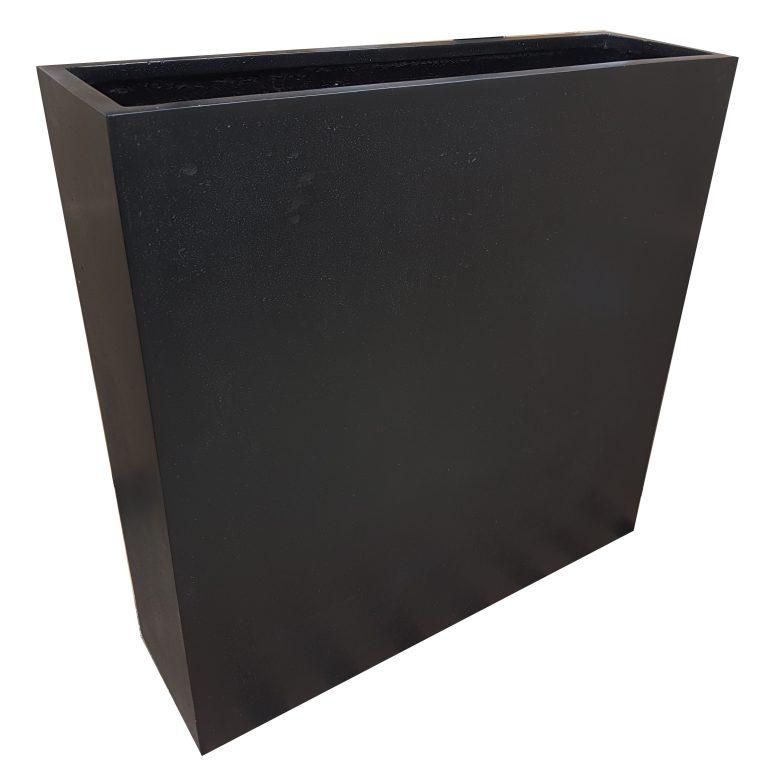 Black Barrier | Polystone Planter