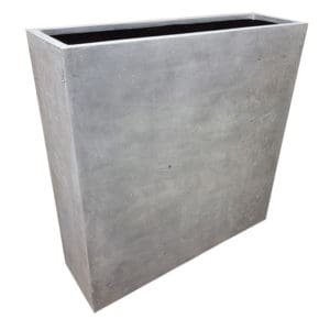 Grey Barrier Polystone Planter