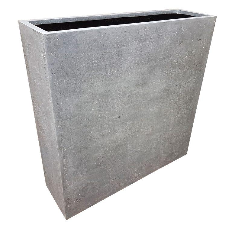 Grey Barrier | Polystone Planter
