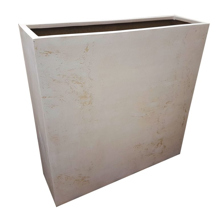 Off-White Barrier | Polystone Planter