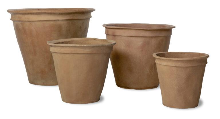 Plain Pot Four Sizes