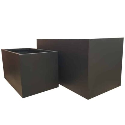 Matte Black Trough | Fibreglass Planter