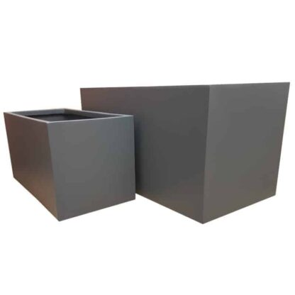 Matte Grey Trough | Fibreglass Planter