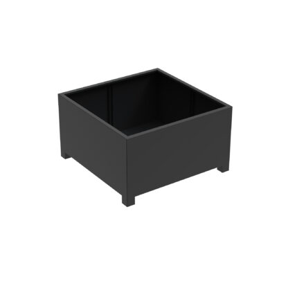 Aluminium Florida Cube Planters with feet by Adezz