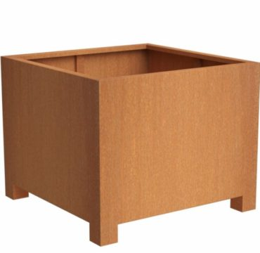Andes Cube With Feet | Adezz Corten Steel Planters