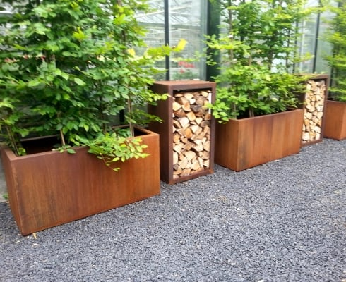 Andes Trough Adezz Corten Steel Planters Alt 1