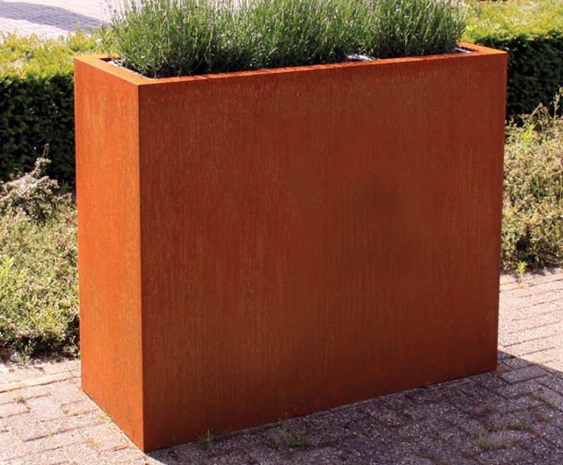 Andes Trough Adezz Corten Steel Planters alt4