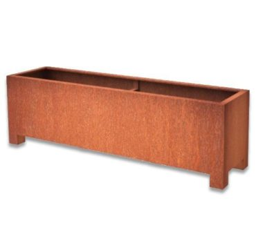 Andes Trough With Feet | Adezz Corten Steel Planters