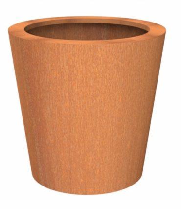 Cado Flared Column | Adezz Corten Steel Planters