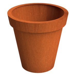 Celso Flared Column Adezz Corten Steel Planters 150x150cm