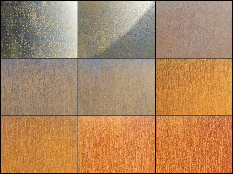 Corten Steel Weathering Process