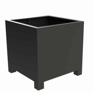Florida Low Cube With Feet | Adezz Aluminium Planters