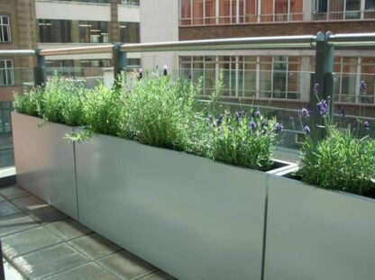 Florida Trough Adezz Aluminium Planters