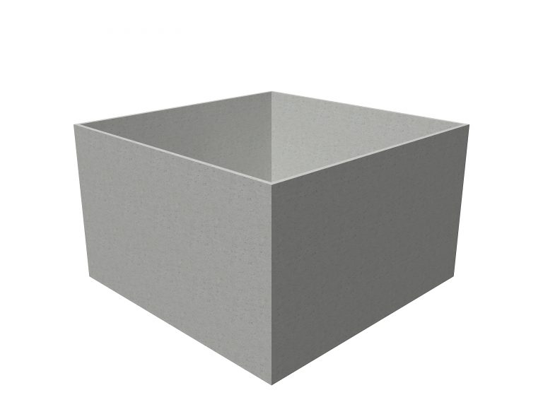 Banco Cube | Adezz Polymer Concrete Planter