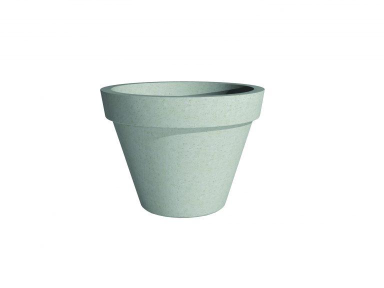 Barro Plain Pot | Adezz Polymer Concrete Planter