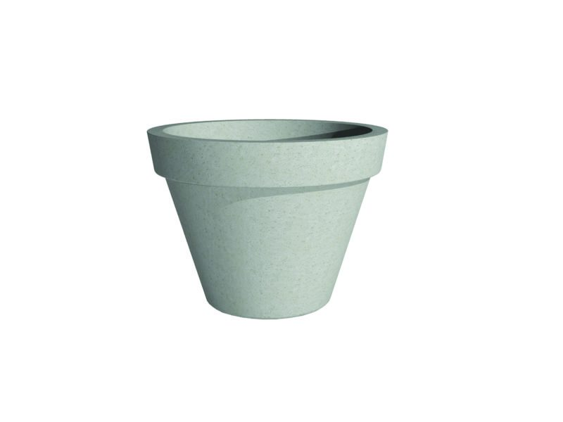 Barro Plain Pot | Adezz Polymer Concrete Planter