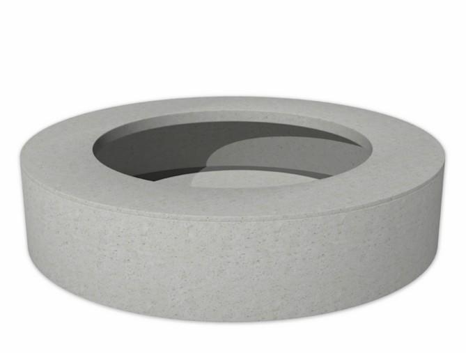 Bodil Round | Adezz Polymer Concrete Planter