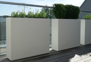 Buxus Barrier Adezz Fibreglass Planter