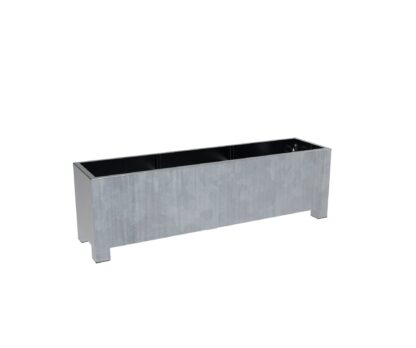 Galvanised Steel Trough Vadim Planters By Adezz