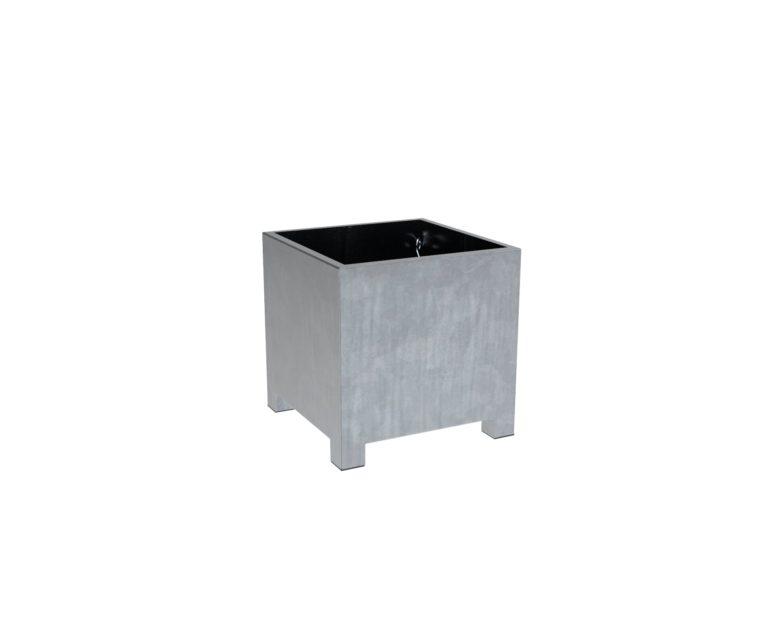Galvanised Steel Vadim Cube Planters By Adezz