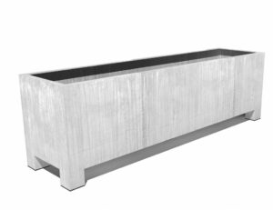 Vadim Trough Adezz Galvanized planters