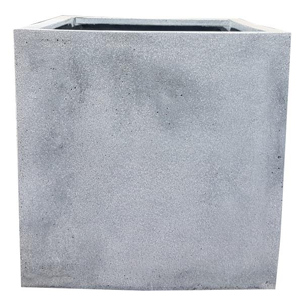 Grey Cube | Fibrestone Planter