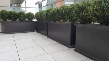 Grosvenor Trough Fibreglass Planter Alt 3