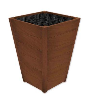 Improved Oak Tapered | Adezz Hardwood Planters