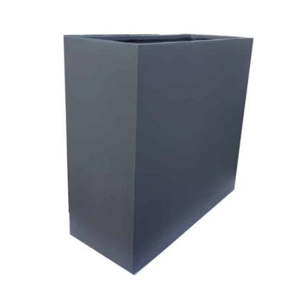 Matte Grey Barrier | Fibreglass Planter