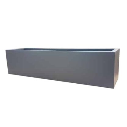 Matte Grey Window Box | Fibreglass Planters