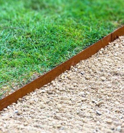Corten Steel Straight Garden Edging by Adezz alt 1